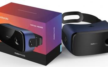 Virtual Viewer MotoMod leaks, looks like a VR headset