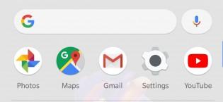 New Pixel Launcher app drawer