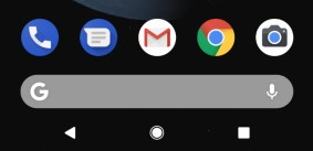 Old Pixel Launcher home