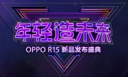 Oppo R15 to go official on March 31 with a 16MP Sony IMX519-based camera