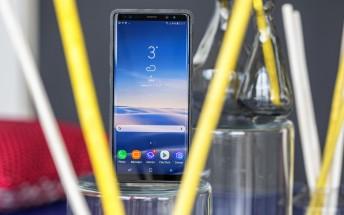Samsung Galaxy Note8  starts receiving Oreo