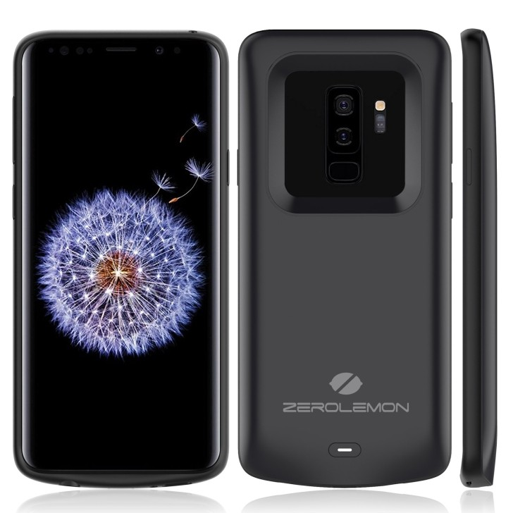 ZeroLemon boosts the Galaxy S9+ battery life with new 5,200 mAh case