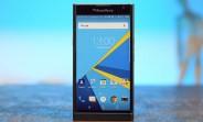 BlackBerry Priv receives a software update