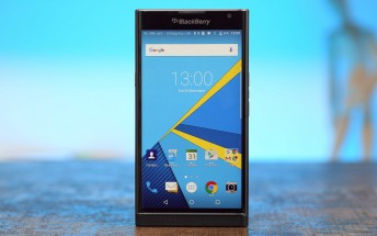 BlackBerry Priv receives a software update