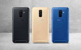 New Samsung Galaxy A6+ renders and live photos of the Galaxy A6 surface