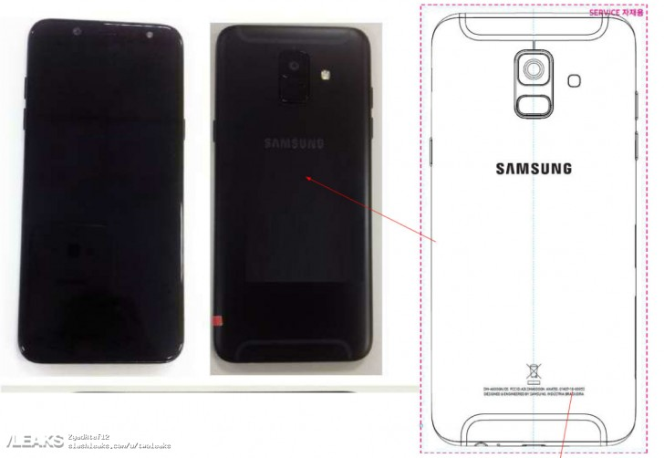 More Samsung Galaxy A6+ renders plus live photos of the smaller Galaxy A6 surface