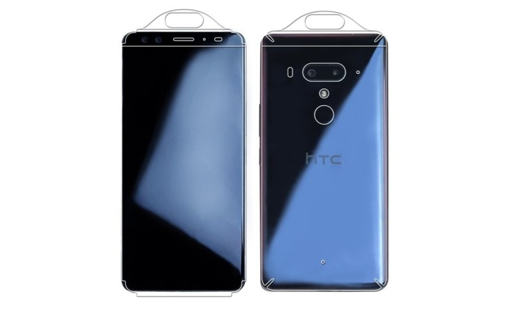 HTC U12 Plus appears in case renders with 4 cameras