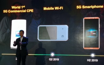 Huawei's first 5G smartphone arrives in the second half of 2019, could be the Mate 30