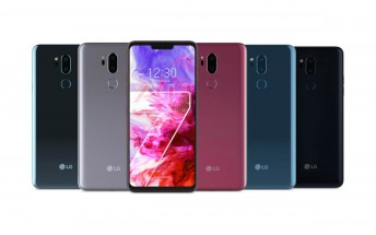 Here are the official LG G7 ThinQ renders in all colors