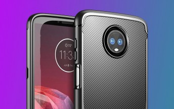Does the Moto Z3 Play have a side-mounted fingerprint scanner?