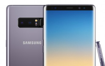 Samsung launches Orchid Gray color for the Galaxy Note8 in India