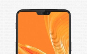 OnePlus 6 leaked image reveals complete front panel