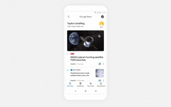 Revamped Google News debuts