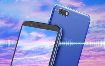 Honor 7S launched with MediaTek SoC, 13MP camera