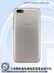 Honor 7S in Gold