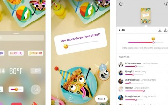 Instagram adds emoji slider as another way to poll followers