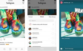 Instagram now lets you share feed posts to Stories