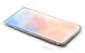 Lenovo Z5 sketch with nearly 100% screen-to-body ratio revealed