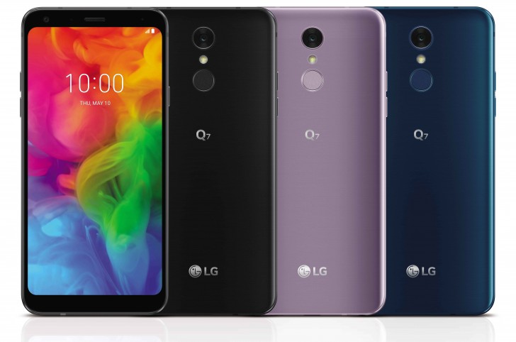 LG Q7 trio unveiled: Q6 upgraded with DTS sound and optional Quad DACs