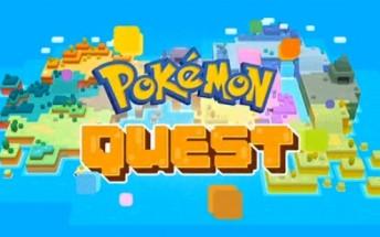 Nintendo launches cubist Pokemon Quest