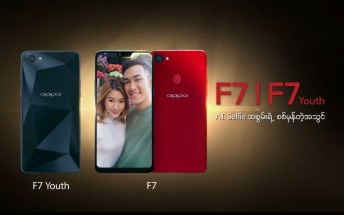 Oppo F7 Youth appears with AI selfie camera