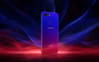 Oppo R15 Nebula Special Edition debuts