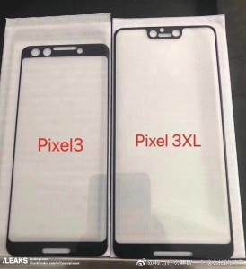 Google Pixel 3 and 3 XL leaked screen protectors reveal stereo