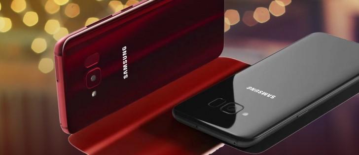 Samsung Galaxy S8 Lite renders leak in Burgundy and Black