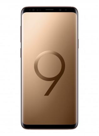 Samsung Galaxy S9+ in Sunrise Gold goes on sale