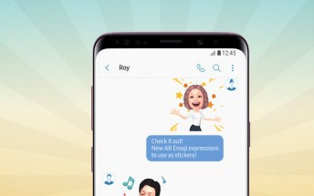 Samsung releases 18 new AR Emoji for the Galaxy S9 and S9+