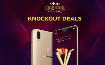 Vivo shopping carnival: up to 40% off on select phones, including the V5 models
