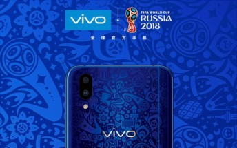 New vivo X21 World Cup Edition arrives in two fancy colors