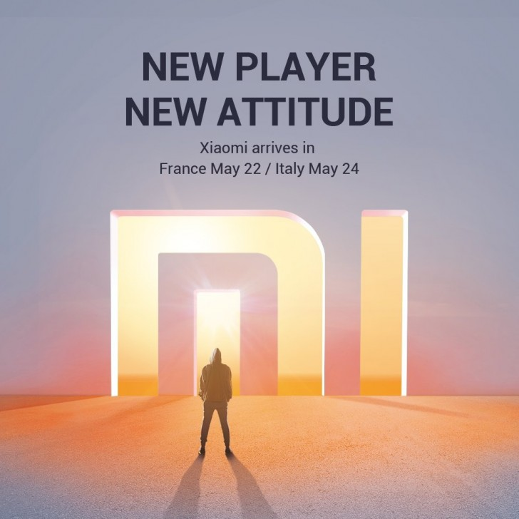 Xiaomi officially arrives to France and Italy