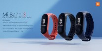 Xiaomi Mi Band 3 official slides