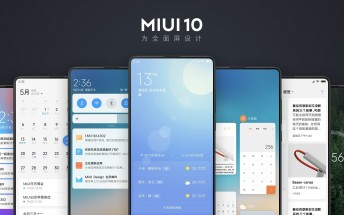 MIUI 10 announced - focus on gestures, camera enhancements and AI