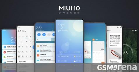 MIUI 10 announced - focus on gestures, camera enhancements