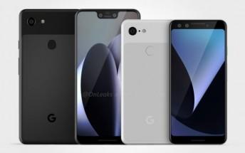 Google Pixel 3 and Pixel 3 XL design leaks in full