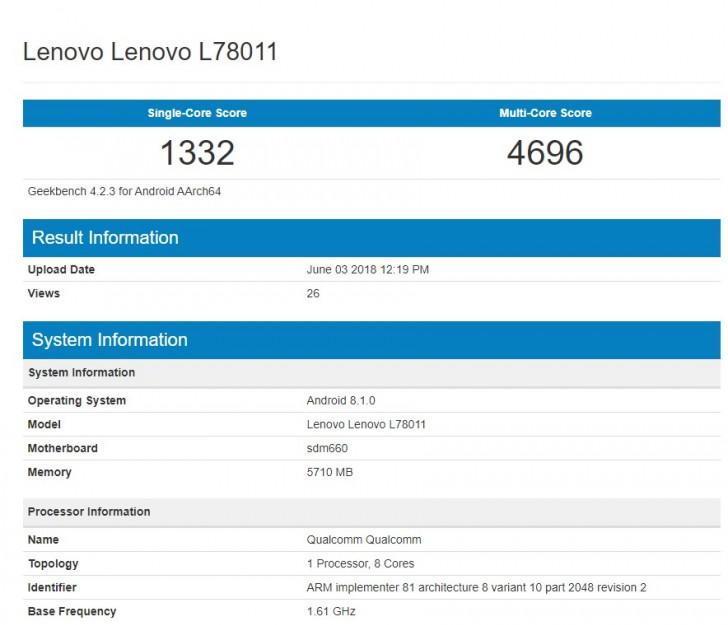 Lenovo Z5 leaks with a bottom bezel