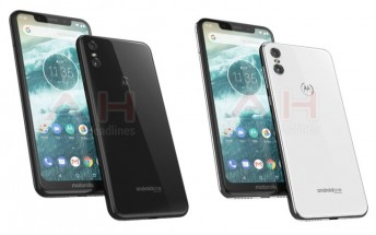 Motorola One leaks with a glass back