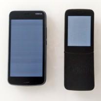 Nokia 1 and Nokia 8110 4G prototypes