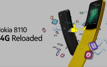 Nokia 8110 4G availability expands, Nokia 6.1 gets new update