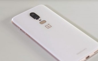 OnePlus 6 in Silk White gone in under 24 hours after launch