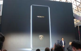 Oppo Find X Lamborghini Edition flash sale ends in 4 seconds