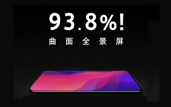 Oppo Find X to have a 93.8% screen to body ratio