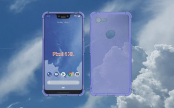 Case for Pixel 3 XL supports the notch rumors, has single camera hole on the back