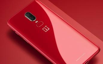 Amber Red OnePlus 6 goes official, sales begin next week