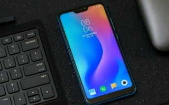 Xiaomi Redmi 6 Pro poses for official product photo shoot