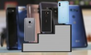 Top 10 fan favorite phones of H1 2018