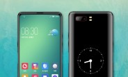 Potential ZTE nubia design has no notch or selfie cam, but a screen on the back instead