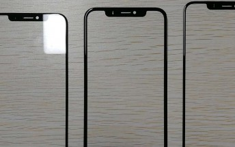 2018 iPhones' front panels surface, impressively thin bezels all around